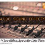 دانلود بیش از 4000 افکت صوتی App FX Sound Effects Library