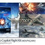 دانلود Video Copilot Flight Kit پکیج آبجکت های آماده هوا و فضا