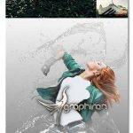 اکشن فتوشاپ تبدیل عکس به آب شفاف Water Photoshop Action
