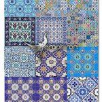 دانلود طرح های وکتور کاشی کاری سنتی و اسلامی مساجد ShutterStock