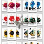 دانلود ۱۰ طرح لایه باز فلایر گرافیکی الکترو Electro Flyer Bundle Vol:02