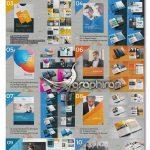 دانلود ۱۰ طرح بروشور لایه باز Multi-pages Brochure Big Bundle