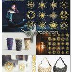 دانلود ۱۰۰ وکتور ستاره های زینتی و زیبا Star Vector Ornaments