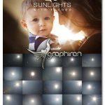 دانلود تصاویر افکت های آماده نور خورشید Sunlights with Flares