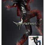 اکشن فتوشاپ پوسیدن و تبدیل شدن به خاکستر Ashen Decay Photoshop Action