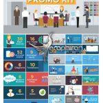 دانلود کیت پروژه افتر افکت تیزرهای تجاری فلت Business Promo Kit