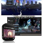 Canvas 360 Pro v1.55 پلاگین افتر افکت ساخت صحنه های 360 درجه