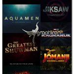 استایل فتوشاپ سینمایی 3 بعدی Cinematic 3D Title Text Effects Vol 11