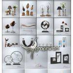 دانلود رایگان 3darcshop Decorations 1-100 مدل های سه بعدی دکوراسیون