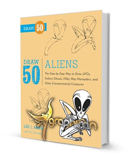 آموزش نقاشی آدم فضایی