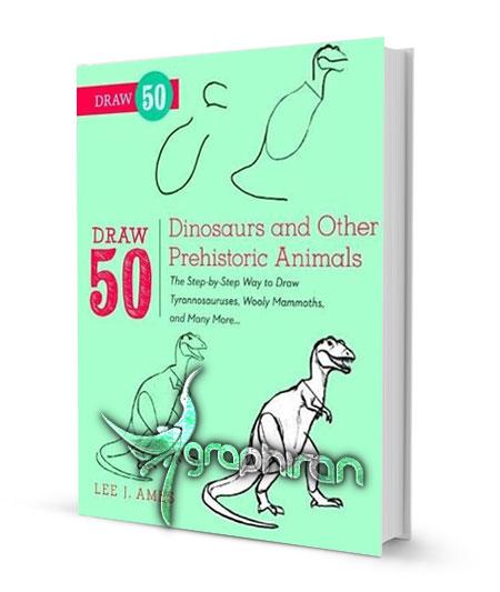 آموزش نقاشی دایناسور