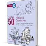 کتاب آموزش نقاشی 50 نوع موجودات جادویی Draw 50 Magical Creatures