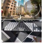دانلود پروژه اسلایدشو پریمیر Geometry Promotion Premiere Promo