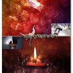 اکشن ساخت انیمیشن جرقه زدن Gif Animated Celebrato 2 Photoshop Action