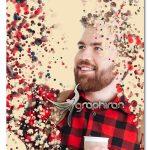 اکشن فتوشاپ پخش شدن ذرات مایع در عکس Liquid Photoshop Action