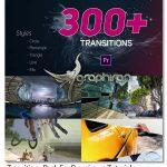 دانلود رایگان پک بیش از 300 ترانزیشن برای پریمیر Transitions Pack
