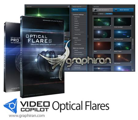 Video Copilot Optical Flares