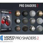 دانلود Video Copilot Pro Shaders 2 Pack سری دوم شیدرهای آماده