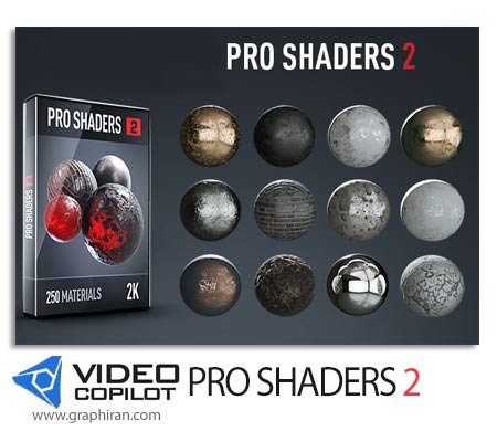 Video Copilot Pro Shaders 2 Pack