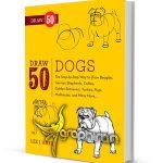 دانلود رایگان کتاب آموزش نقاشی ۵۰ نوع سگ Draw 50 Dogs