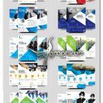 دانلود 10 تراکت و پوستر تجاری لایه باز Business Flyer Bundle