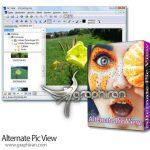 دانلود نرم افزار نمایش عکس ساده و سریع در ویندوز Alternate Pic View 2.480