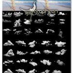دانلود مجموعه 45 عکس ابر با کیفیت PNG برش خورده Clouds Overlays