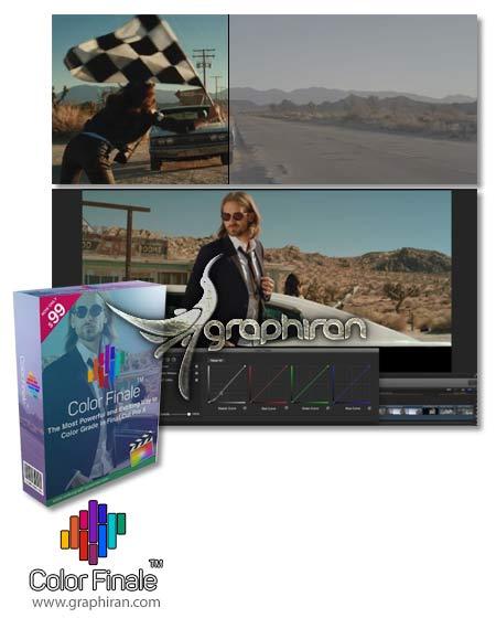 Color Finale پلاگین Final Cut Pro X