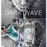 دانلود اکشن فتوشاپ موج تاریک Dark Wave Photoshop Action