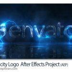 پروژه افتر افکت لوگو و جریان برق Electricity Logo + فیلم آموزشی