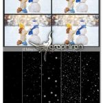دانلود مجموعه ۵۲ عکس پوششی بارش برف Falling Snow Overlays