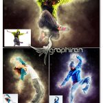 اکشن فتوشاپ افکت قهرمانانه زیبا Heroic Photoshop Action