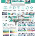 دانلود قالب آماده پاورپوینت پزشکی Medical PowerPoint Template – شماره ۶۹