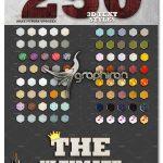 دانلود ۲۵۰ استایل فتوشاپ ۳ بعدی حرفه ای Mega Bundle 250+ 3D Text Styles