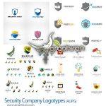 دانلود مجموعه طرح های لوگوی آماده وکتور با موضوع امنیت و دفاع