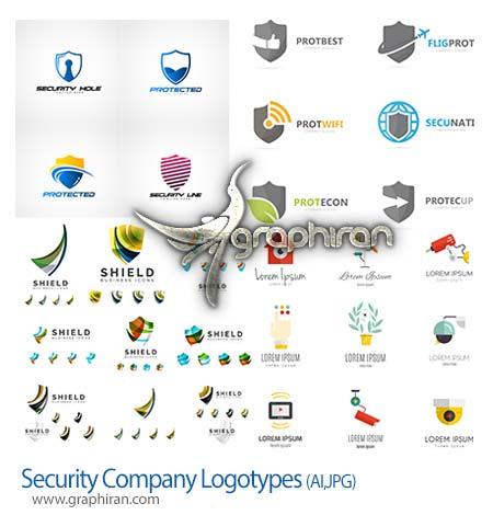 طرح های لوگو با موضوع امنیت