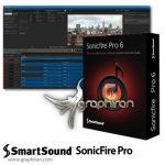 SmartSound SonicFire Pro 6.0.8 نرم افزار و پلاگین ویرایش و میکس آهنگ
