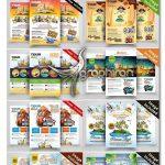 دانلود ۱۰ پوستر گردشگری و توریسم PSD لایه باز Tour Travel Flyers Bundle