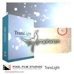 TransLight پلاگین Final Cut Pro X ساخت ترانزیشن ذرات نورانی