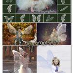 دانلود ۱۶ عکس PNG بال های فرشته افسانه ای Wings Fairy Overlay