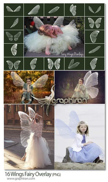 عکس PNG بال های فرشته افسانه ای