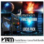 دانلود Fractal Rama + Locus Pack Bundle مدل های 3 بعدی و تکسچر فضایی
