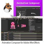 Animation Composer 2.5.0 پلاگین افتر افکت پریست های Motion و Precomp