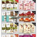 دانلود ۱۰ تراکت تبلیغاتی سالن زیبایی و اسپا Beauty Spa Flyer Bundle