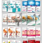 دانلود ۱۰ طرح تراکت دندان پزشکی و دندان سازی PSD لایه باز