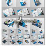 دانلود ۱۰ قالب آماده بروشور دو لت برای فتوشاپ The Bi-Fold Brochure