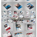 دانلود 12 نمونه آماده بروشور تبلیغاتی و تجاری PSD لایه باز