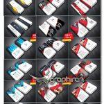 دانلود پک ۲۷ طرح جدید کارت ویزیت PSD فتوشاپ – شماره ۴۲۸