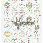 دانلود مجموعه ۵۰ پترن رنگین کمان Seamless Rainbow Patterns