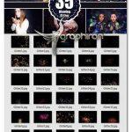 دانلود ۳۵ عکس پوششی ذرات درخشان Blowing Glitter Photoshop Overlay